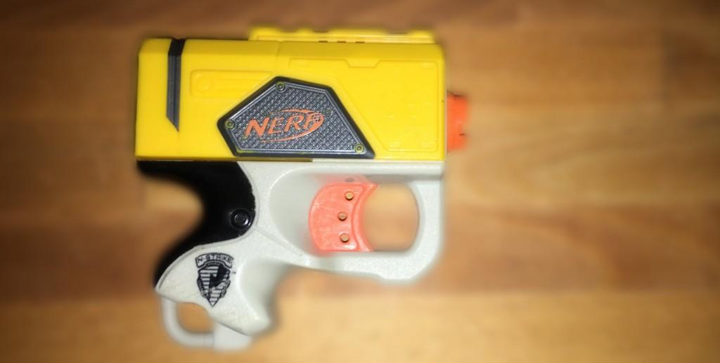 Nerf Reflex IX-1 Mod: Die Idee