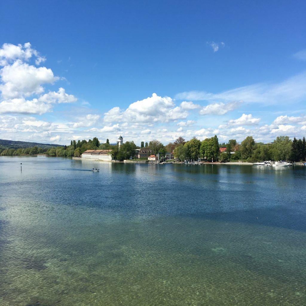 Der Seerhein bei Stromeyersdorf